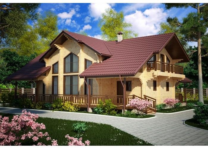 Проекты домов из клееного бруса в Высоковске.